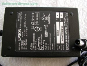 Epson A241B AC Power Adapter PERFECTION 1270 1670 Scanner Supply