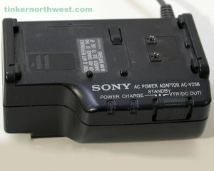 Sony AC-V25B AC Power Adapter Charger