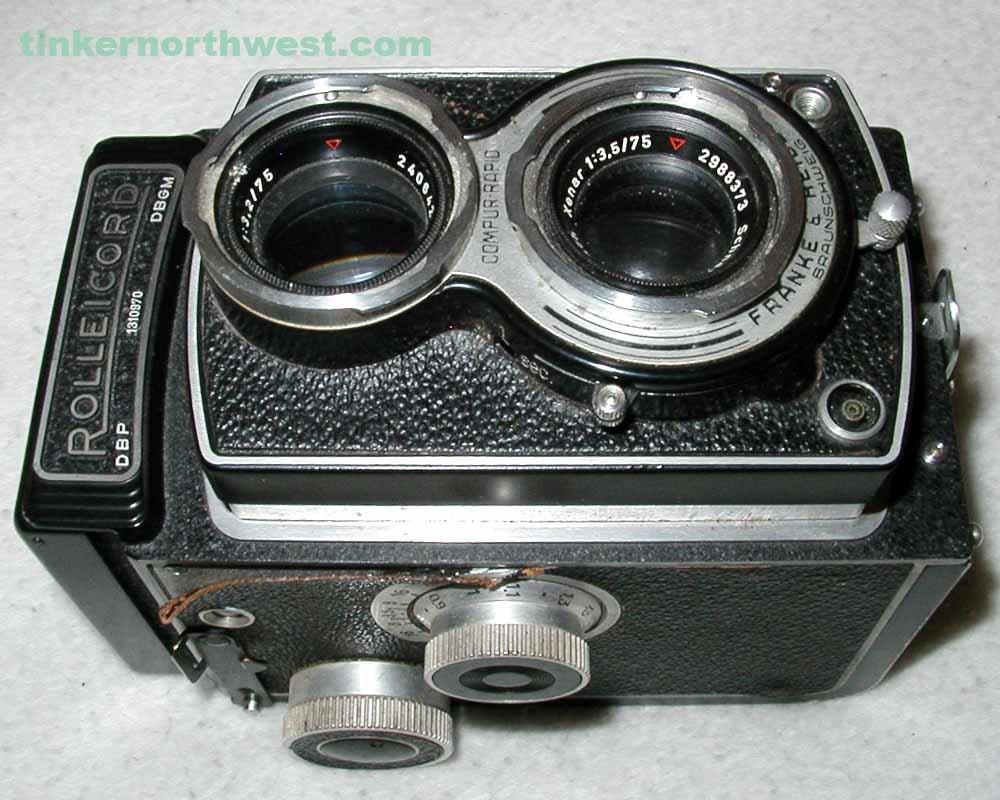 Rollei Rolleicord III TRL 120, 6x6 Film Camera