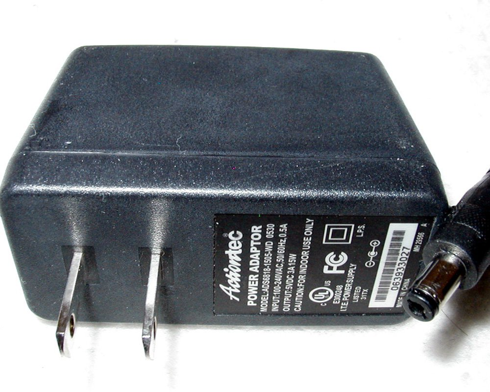 Actiontec ADS6818-1505-WD AC Power Adapter MI424WR Supply