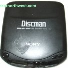 Sony Discman D-131 CD Player Mega Bass 1bit DAC AVLS