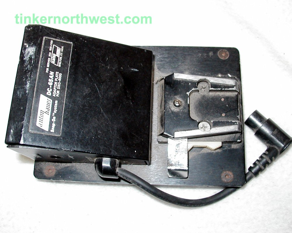 Anton Bauer DC-65AN Adapter Plate for Sony CXC-6000