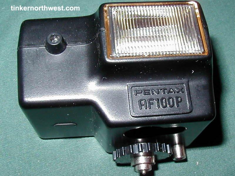 Asahi Pentax Auto 110 SLR Camera Flash