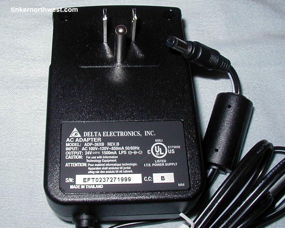 Delta ADP-36XB HP L1940-80001 HP Power Adapter Scanjet