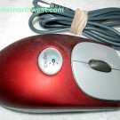 Logitech 830525-0000 M-BJ58 USB Optical Mouse Red