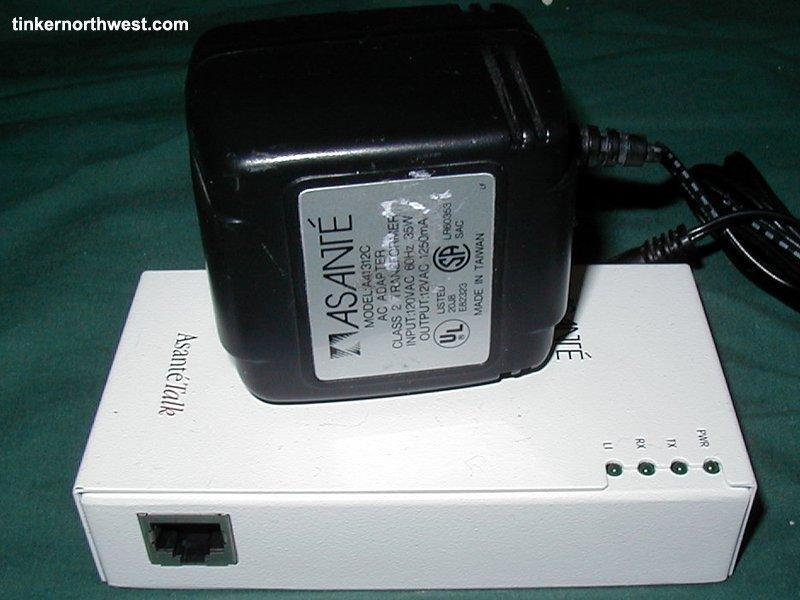 Asante Asantetalk Appletalk Ethernet Adapter iPrint