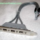 iLink 3 port Firewire 1394a Bracket