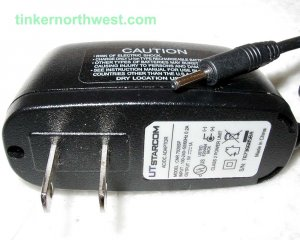 CNR 7025SP UT Starcom AC Power Adapter 5VDC 1A Supply