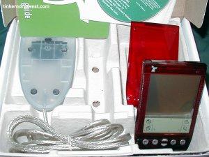Handspring Visor Neo Red Pocket PC Palm OS PDA