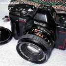 KONICA AUTO TC-X 35mm SLR & 50mm 1.7 HEXANON LENS
