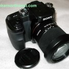 SONY ALPHA A100 DIGITAL SLR DSLR CAMERA with SONY 18-70mm Zoom Lens