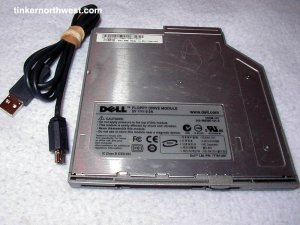 Dell FDDM-101 EXT INT USB Floppy Drive D400 D600