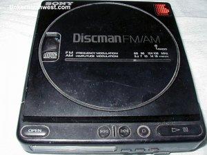 Sony D-T4 Portable Discman Portable Vintage CD Player