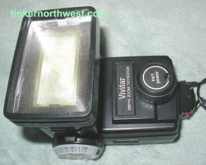 Vivitar 285HV High Voltage Auto Manual Flash Zoom Thyristor
