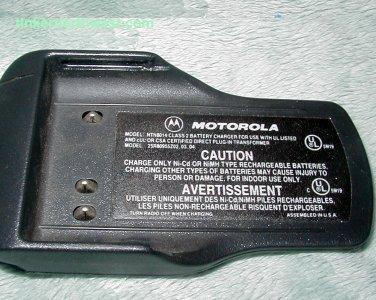 Motorla NTN8014 Visar Compact Overnight Charger