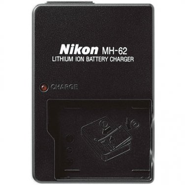 Nikon MH-62 Battery Charger for Coolpix P1, P2, S1 & S3 Digital Camera