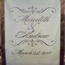 Aisle Runner Wedding Monogram Runner Decor White Ceremony Isle Runner Decoration