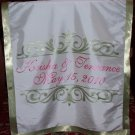 Wedding Monogram Table Runner Reception Decor Head Table Runner Centerpiece