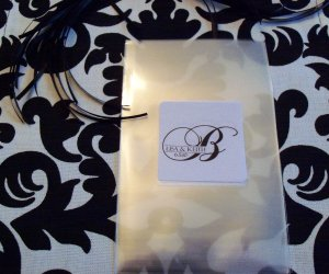 Wedding Candy Favor Bags Candy Buffet Custom Monogram Labels GIfts