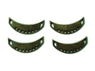 Bronze Cresents (per 4 pieces)