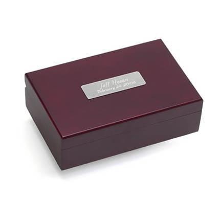 Cherry Finish Keepsake Box GC129