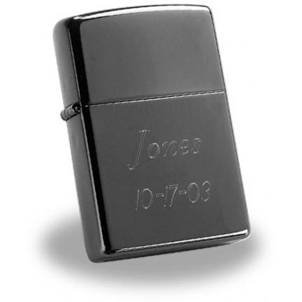 Zippo Black Ice Lighter GC203