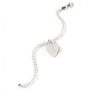 Sterling Silver Charm Bracelet GC217