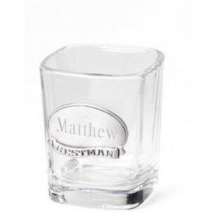 Pewter Medallion Shot Glass GC221