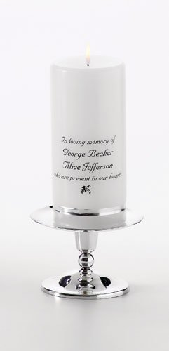 Memorial Candle Set  GC314