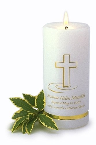 Personalized Baptismal CandleGC321