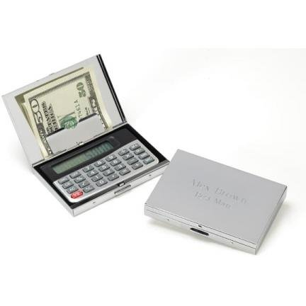 Calculator/Card Holder GC251