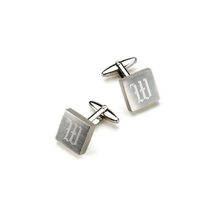 Silver Square Cufflinks GC259