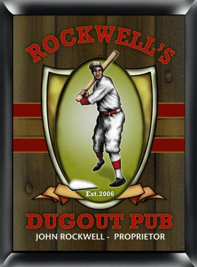 Dugout Pub Sign