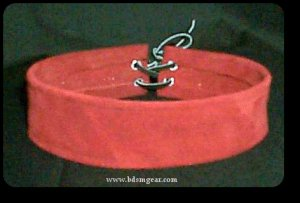 Red Suede Choker