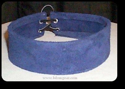Blue Suede Choker
