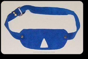 Blue Suede Blindfold