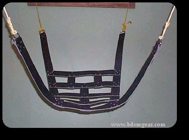OVERSIZE Leather Bondage Sling