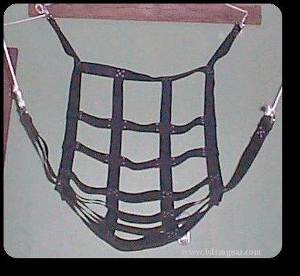 Adjustable Leather Bondage Sling