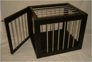 Heavy Duty Wood and Vinyl Cage Medium