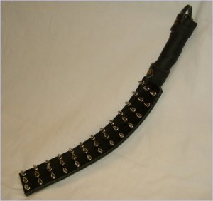 Spiked Leather Paddle
