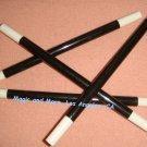 """Magic Wand, 10"""" Plastic, Black with White Tips (1005)"""