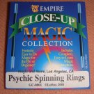 Psychic Spinning Rings, Easy Visual Magic
