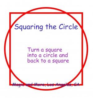 Squaring the Circle, Metal, Magical & Funny Gag Effect (1142)