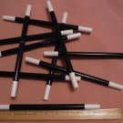 "Magic Wand, Black with White Tips, 10"" Long, Lot of 10 (1005)"