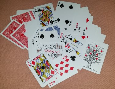 Gaff Deck, Nifty FIFTY6 Card Deck, All Bicycle Cards, Great Assortment (2065)