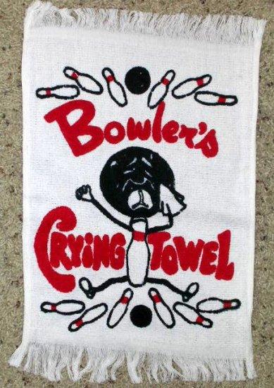 Bowling Towel Joke Gift Crying Towel Sale
