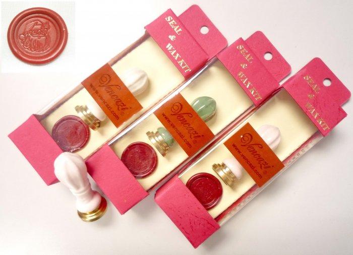 """Santa Claus"" - Royal Wand Style Cermaic Mini Seal Hanger Pack"