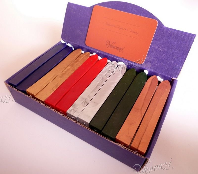 36pcs Boxed Elastic Wicked Sealing Wax - Pop Serial (+FREE GIFT!!!)