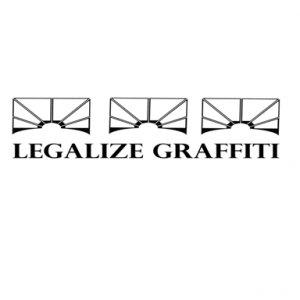 Legalize graffiti shirt.