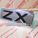 "1x  OEM TOYOTA"" ZX emblem  found on Jdm 2008-2015 LANDCRUISER 200 LC200 J200"